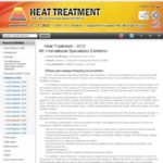 Heat Treatment 2020 - 14th International Specialized Exhibition on Technologies…